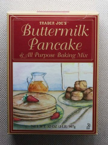 Trader Joe's Buttermilk Pancake and All Purpose Baking Mix box