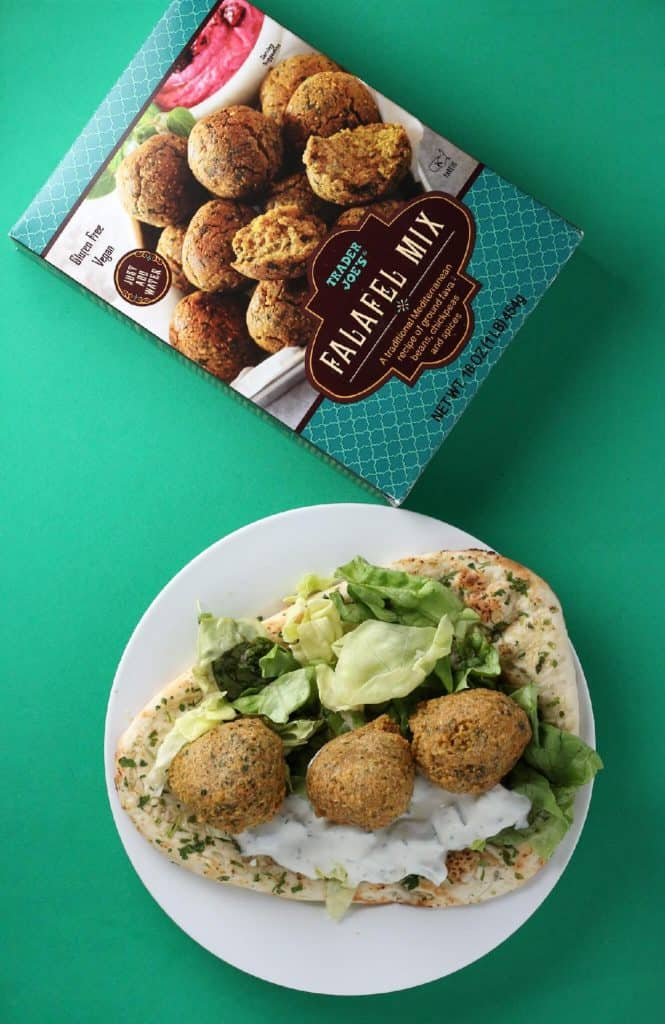 Trader Joe's Falafel Mix finished product