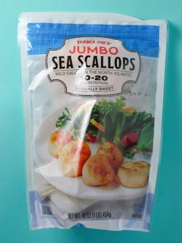 Trader Joe's Jumbo Sea Scallops bag