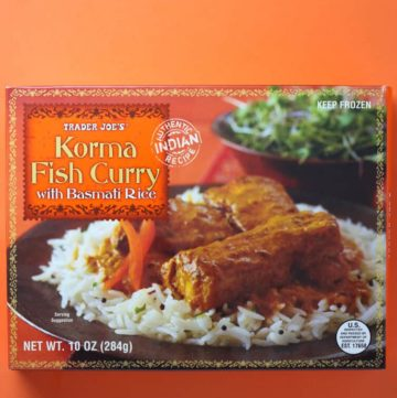 Trader Joe's Korma Fish Curry