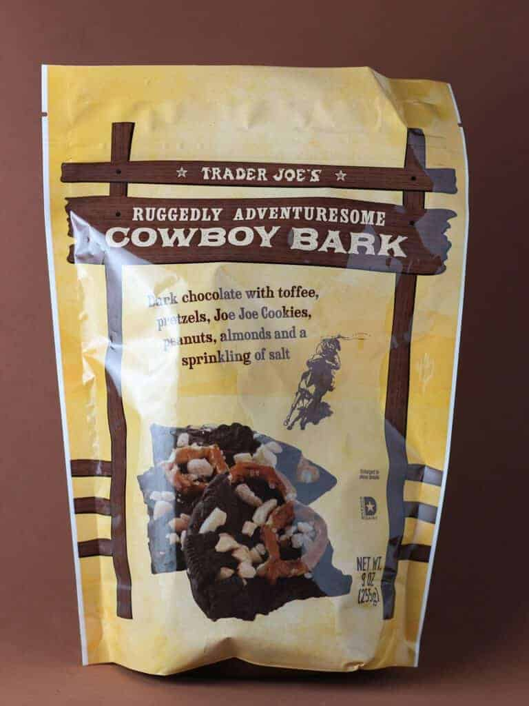 Trader Joe's Ruggedly Adventuresome Cowboy Bark bag