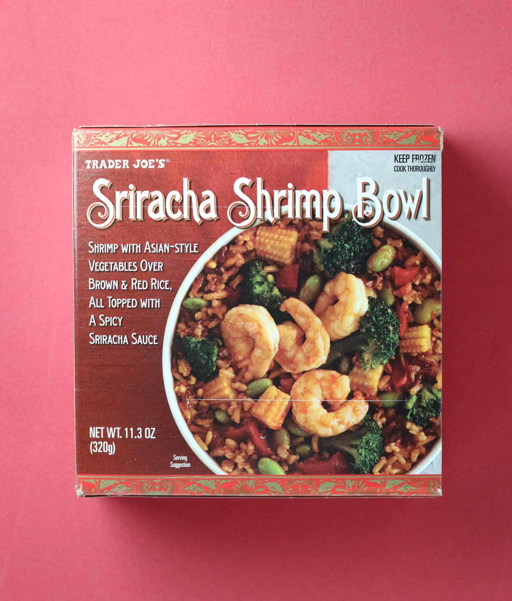 Trader Joes Sriracha Shrimp Bowl Becomebettycom