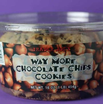 Trader Joe's Way More Chocolate Chips Cookies