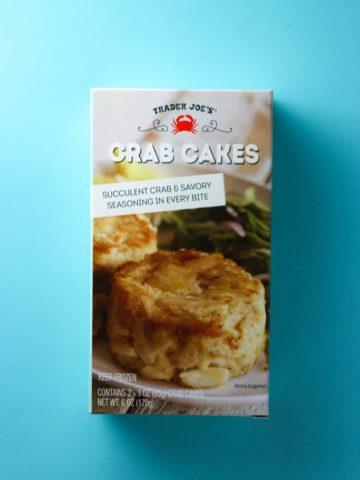 Trader Joe's Crab Cakes box