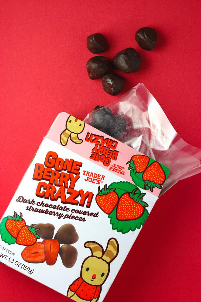 Trader Joe's Gone Berry Crazy out of the package