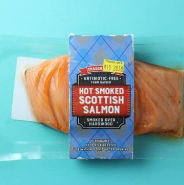Trader Joe's Hot Smoked Scottish Salmon