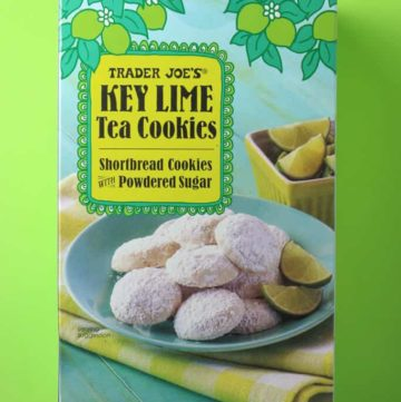 Trader Joe's Key Lime Tea Cookies