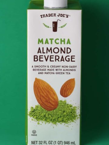 Trader Joe's Matcha Almond Beverage box