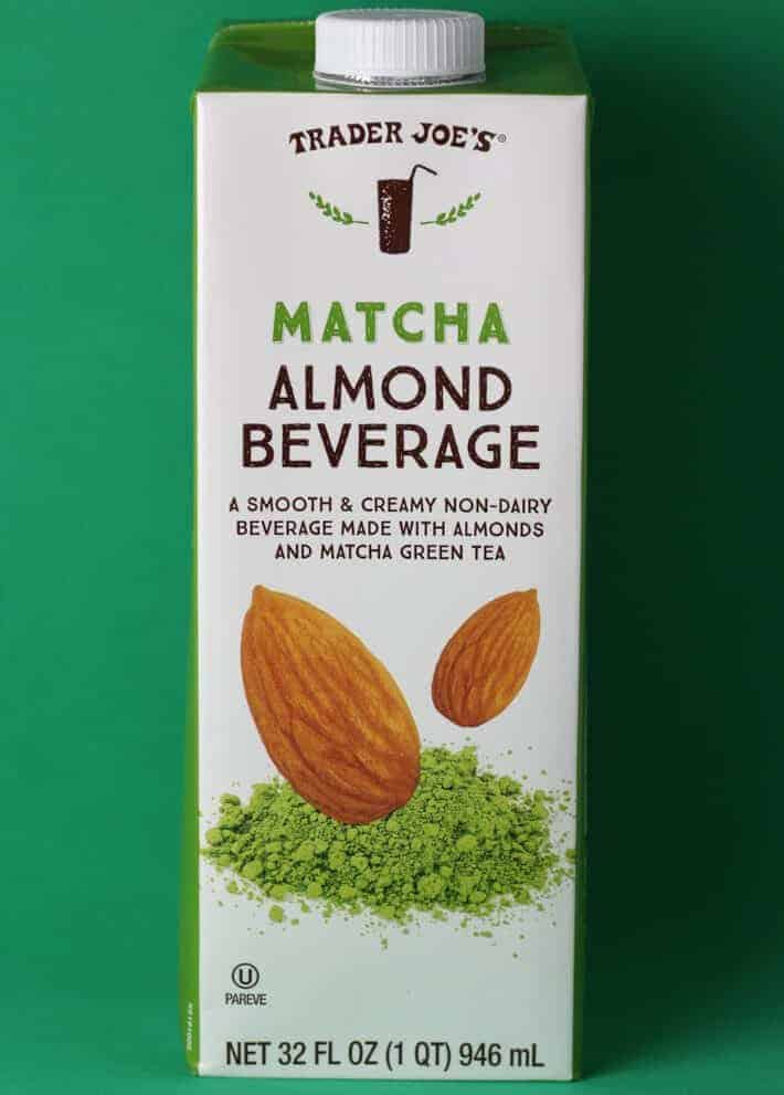 Trader Joe's Matcha Almond Beverage box