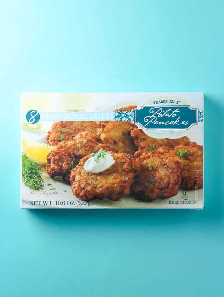 Trader Joe's Potato Pancakes review #traderjoes