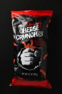 Trader Joe's Spicy Cheese Crunchies bag