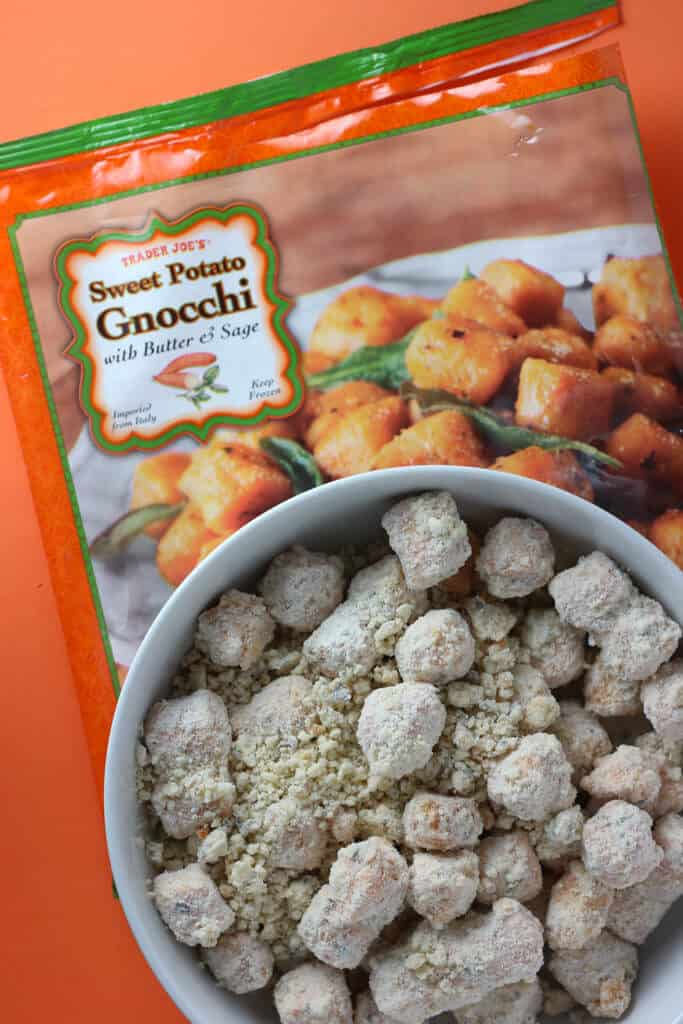Trader Joe's Sweet Potato Gnocchi uncooked