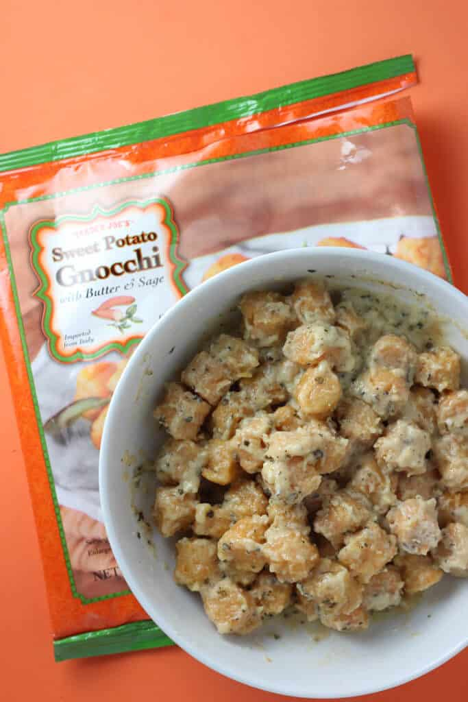 Trader Joe's Sweet Potato Gnocchi fully cooked