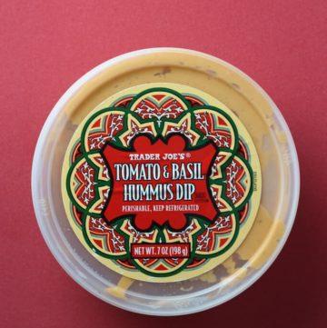 Trader Joe's Tomato Basil Hummus