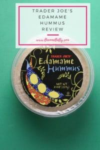 Trader Joe's Edamame Hummus review