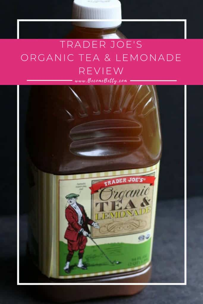 Trader Joe's Organic Tea and Lemonade review