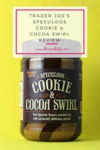 Trader Joe's Speculoos Cookie and Cocoa Swirl review