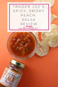Trader Joe's Spicy, Smoky Peach Salsa review