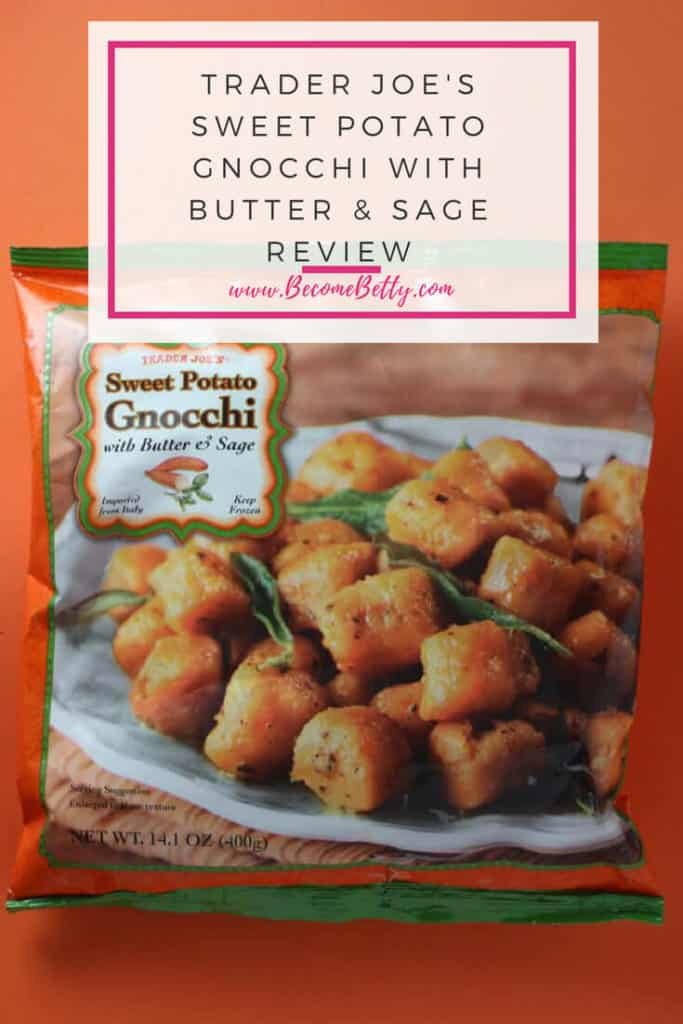 Trader Joe's Sweet Potato Gnocchi review