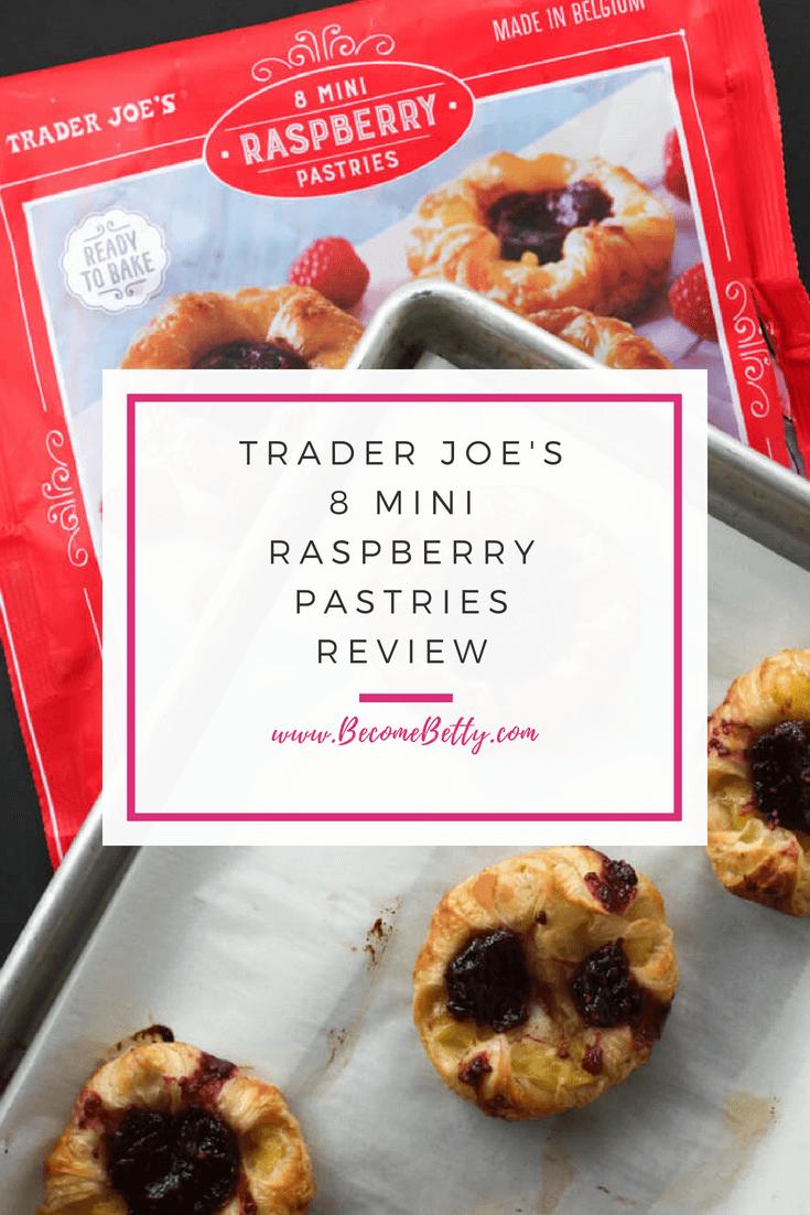 Trader Joe's 8 Mini Raspberry Pastries review