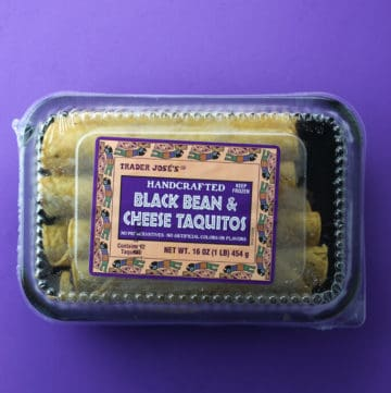 Trader Joe's Black Bean and Cheese Taquitos