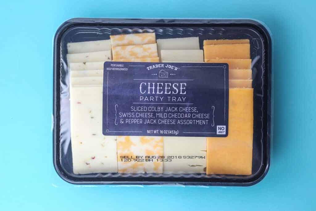 Trader Joe's Cheese Party Tray