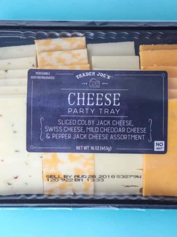Trader Joe's Cheese Party Tray