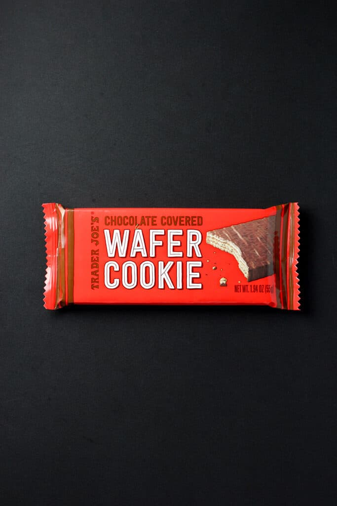 Trader Joe's Chocolate Covered Wafer Cookie package