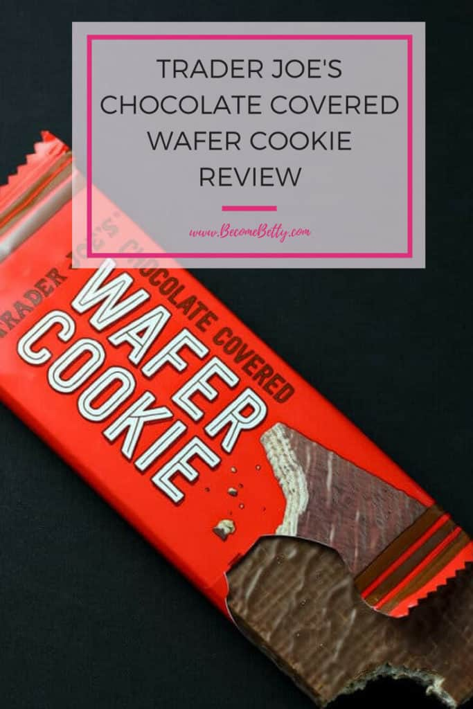 Trader Joe's Chocolate Covered Wafer Cookie Review