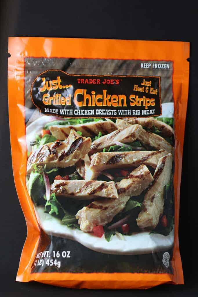 Trader Joe's Just Grilled Chicken Strips bag