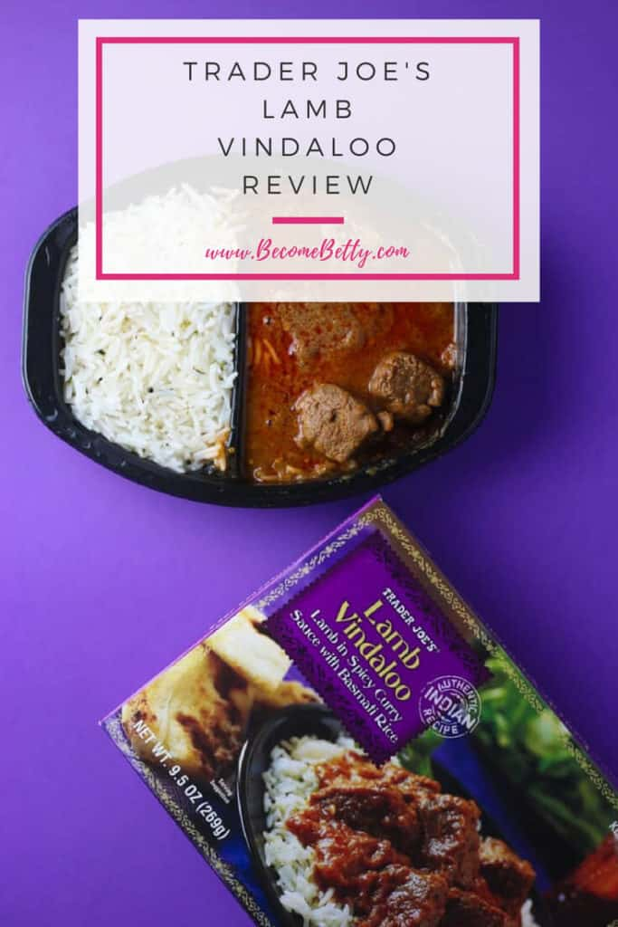 Trader Joe's Lamb Vindaloo Review