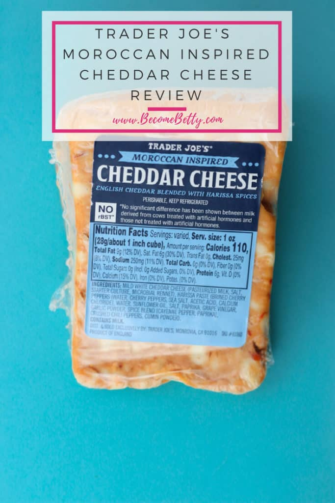 Trader Joe's Moroccan Inspired Cheddar Cheese Review