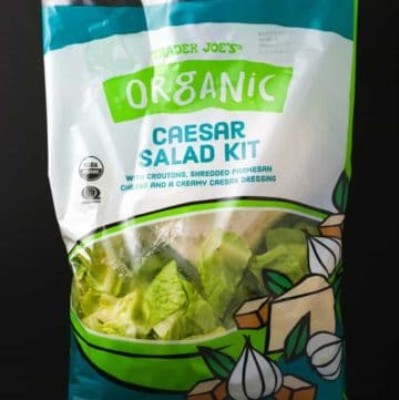 Trader Joe's Organic Caesar Salad Kit bag
