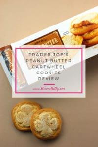 Trader Joe's Peanut Butter Cartwheel Cookies Review