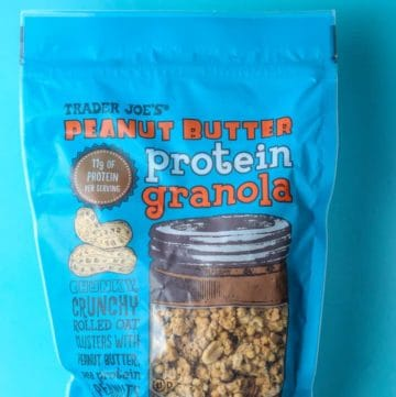 Trader Joe's Peanut Butter Protein Granola bag