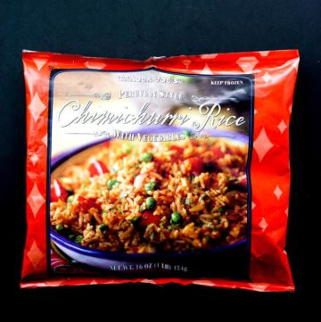 Trader Joe's Peruvian Style Chimichurri Rice review #traderjoes