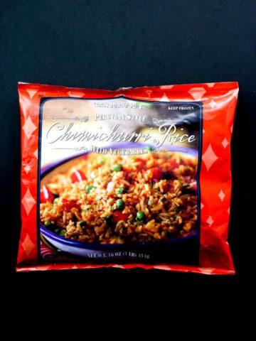 Trader Joe's Peruvian Style Chimichurri Rice review #traderjoes
