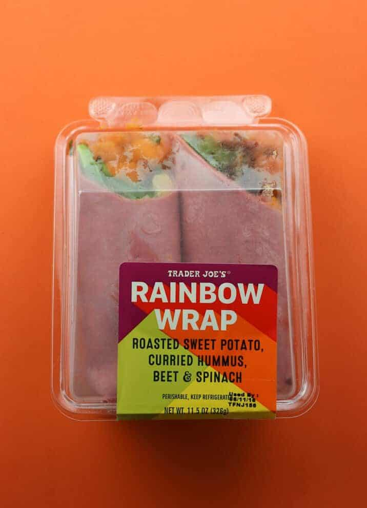 Trader Joe's Rainbow Wrap package