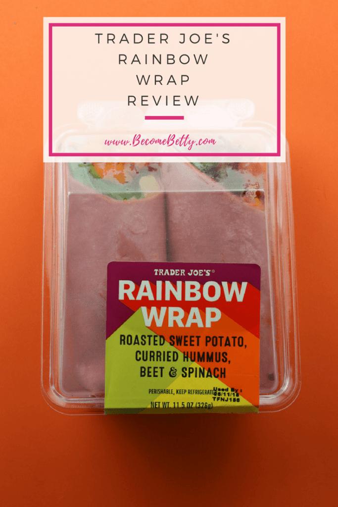 Trader Joe's Rainbow Wrap review