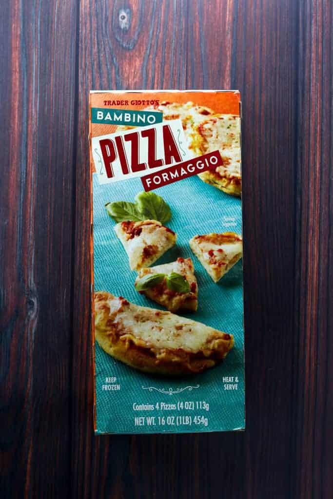 Trader Joe's Bambino Pizza Formaggio box