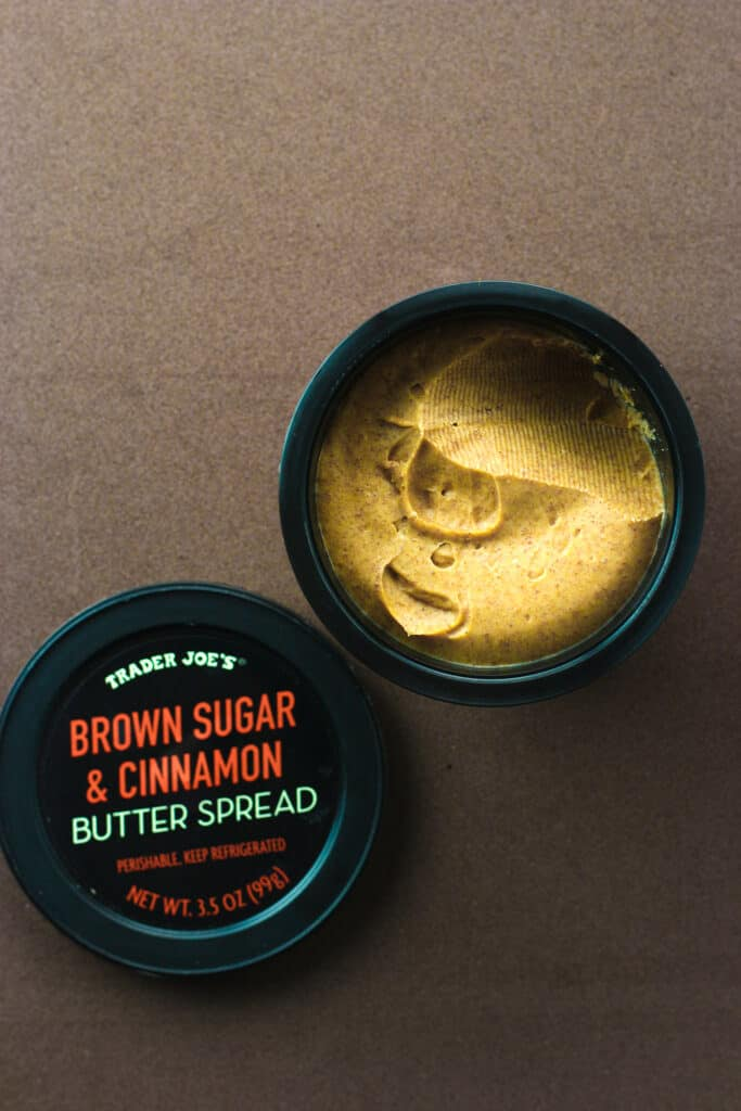 Trader Joe's Brown Sugar and Cinnamon Butter Spread