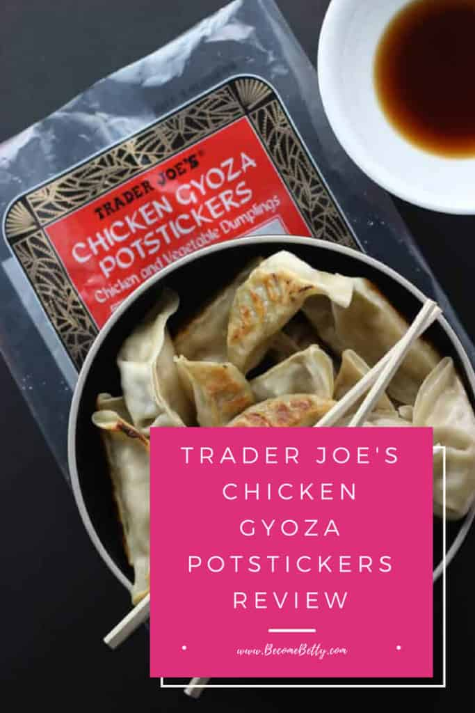Trader Joe's Chicken Gyoza Potstickers review