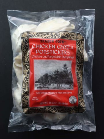 Trader Joe's Chicken Gyoza Potstickers bag