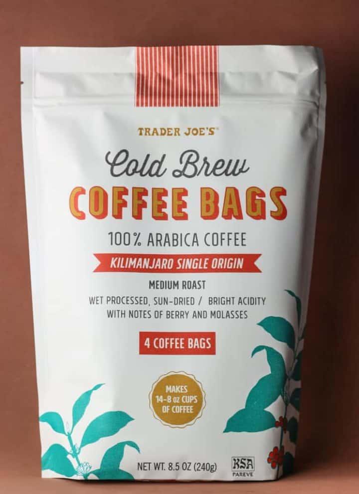 Trader Joe's Cold Brew Coffee Bags