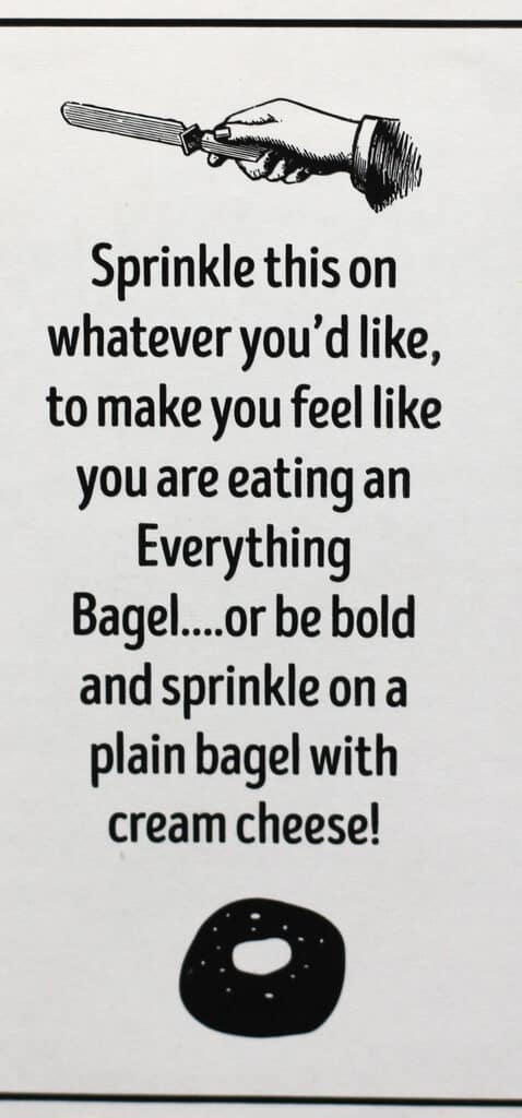 Trader Joe's Everything But the Bagel Sesame Seasoning Blend description