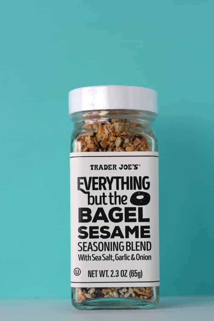 Trader Joe's Everything But the Bagel Sesame Seasoning Blend jar