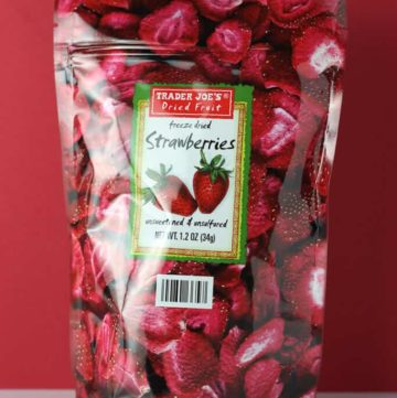 Trader Joe's Freeze Dried Strawberries