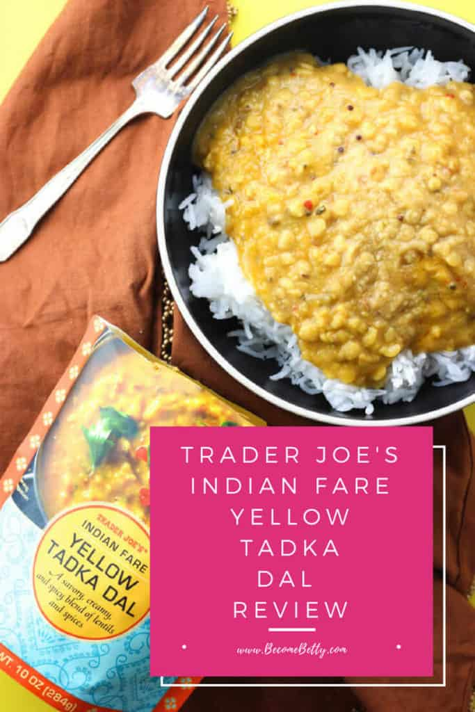 Trader Joe's Indian Fare Yellow Tadka Dal review