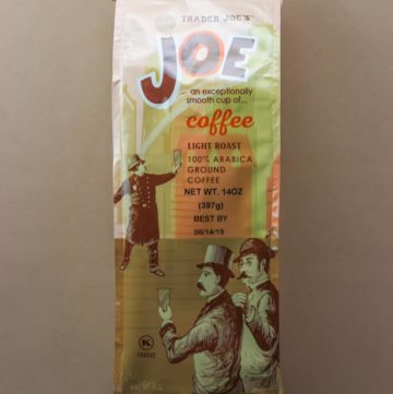 Trader Joe's Joe Coffee bag
