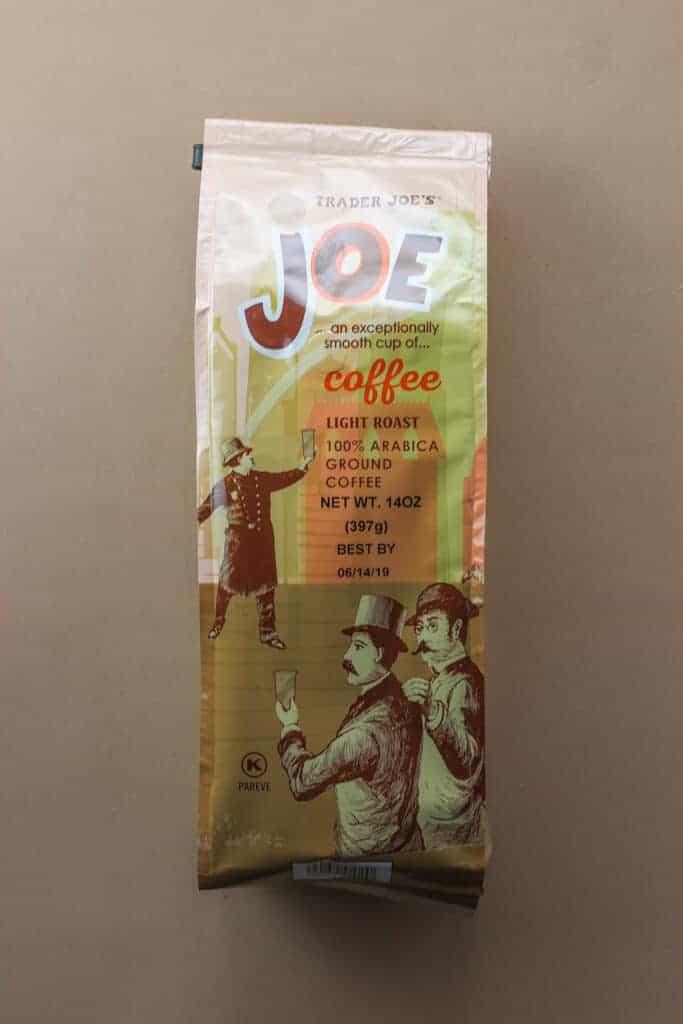 Trader Joe's Joe Coffee bag